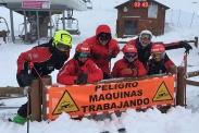 Curso de esquí de preparación pruebas de acceso profesores 2019